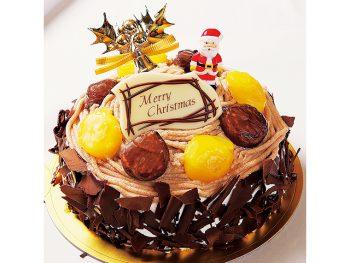 【おすすめクリスマスケーキ】プレミアム モンブラン(5号・3,800円)