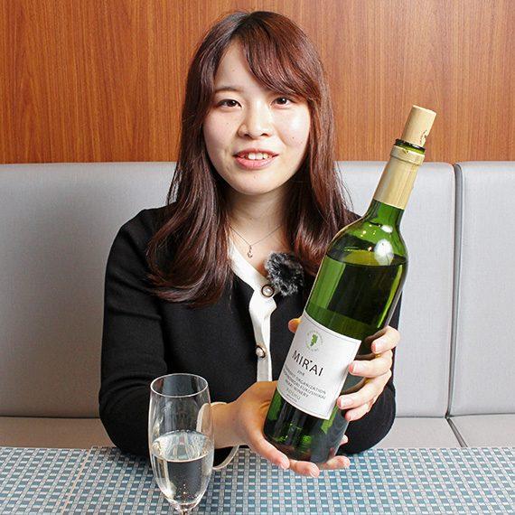 まずは白ワインから