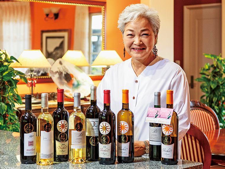 「食卓で気軽にワインを楽しんでほしい」と1,280円(税別)からと手頃な料金も魅力。オーナーのテキシドアさんは、年に1、2度、現地ドメーヌを訪れている