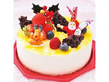 【おすすめクリスマスケーキ】ノエル・フロマージュ(5号・4,104円)