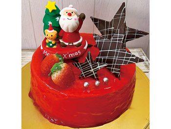【おすすめクリスマスケーキ】ストロベリーフロマージュ(直径15cm・3,900円)