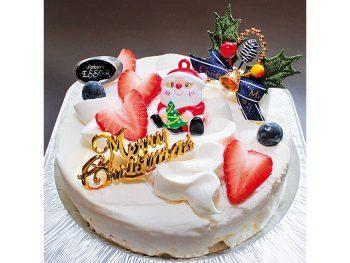 【おすすめクリスマスケーキ】クレーム・ダンジュ/天使のクリーム(5号・3,800円※税別、6号・4,200円※税別)
