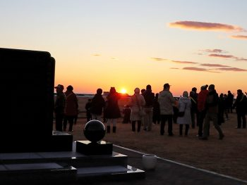 浪江町請戸で初日の出を観るウォーキングイベント開催!