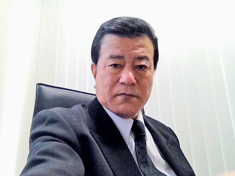 代表取締役 堀江 稔さん。情熱・やさしさ・自己成長(意欲)・チームワークがモットー