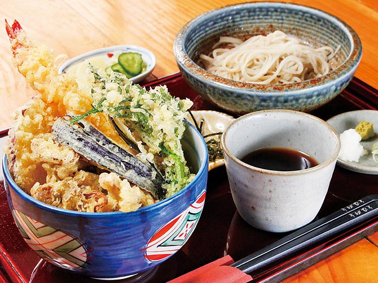 「天丼セット」(1,050円)※月〜金曜日限定