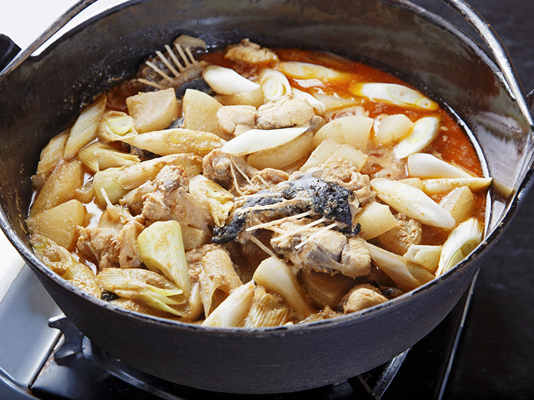 郷土料理「どぶ汁」