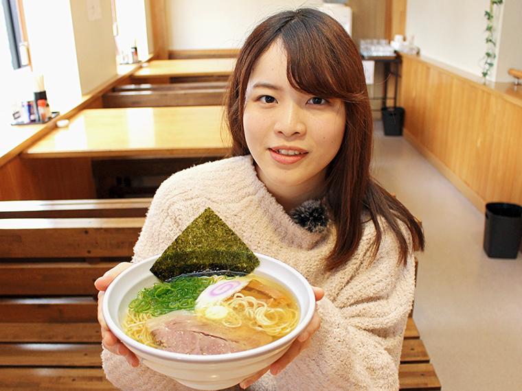 銀次郎×ファームつばさの「塩バターラーメン」(900円)