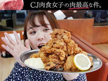【唐揚げだけで1ポンド超】「富士からあげ定食」、コスパ良すぎ!!