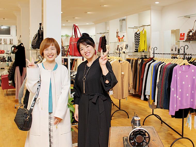 菅野さん、店長さん、素敵な笑顔ありがとうございます!