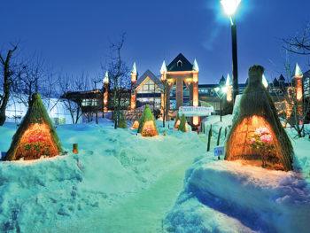 思わず写真を撮りたくなる!山形県高畠町の冬の祭典