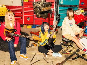 ガールズバンド「the peggies」、全国ワンマンツアーで福島市初上陸!