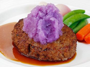 肉の旨みが広がる絶品ハンバーグ