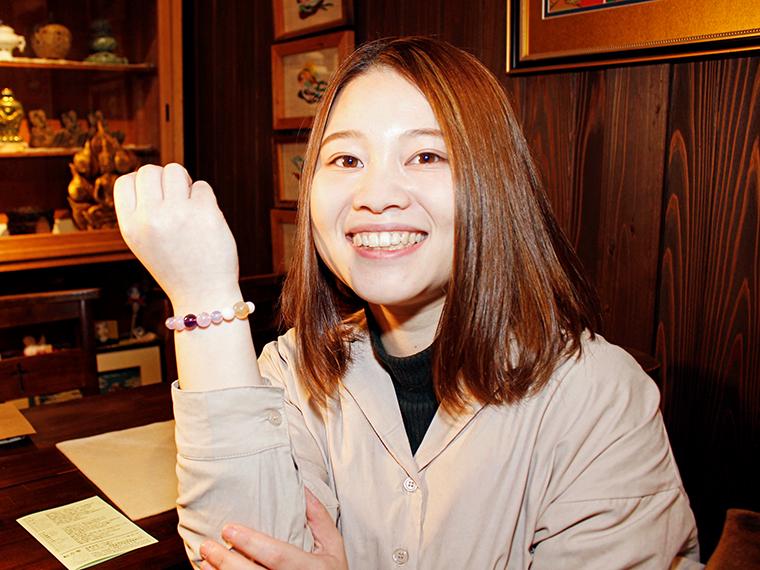 福島市飯坂町にあるパワーストーンのお店に潜入!実際に運気を診断してもらってみた
