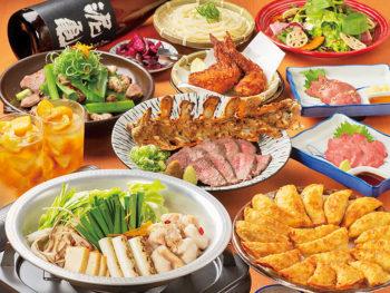 60名までの大きな宴会に対応できる座敷も完備!季節限定の銘柄日本酒も各種ラインアップ‼