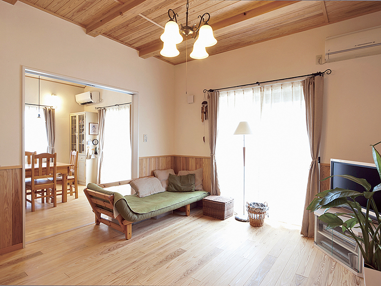 自由に選べるビュッフェスタイル住宅。家族の健康を叶える暮らしを提案する、福島市の工務店