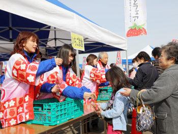 亘理町の海の幸・里の幸が盛りだくさん!大人気イチゴ試食会も