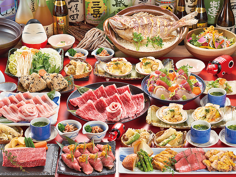 【庵ぐらグループ】「庵ぐらグループ」では、料理を銘々盛りで提供!前日までのキャンセルもOK