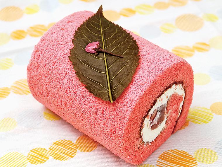 9【手作り菓子工房 大野屋】サクラロール(通常イートイン858円・テイクアウト842円)