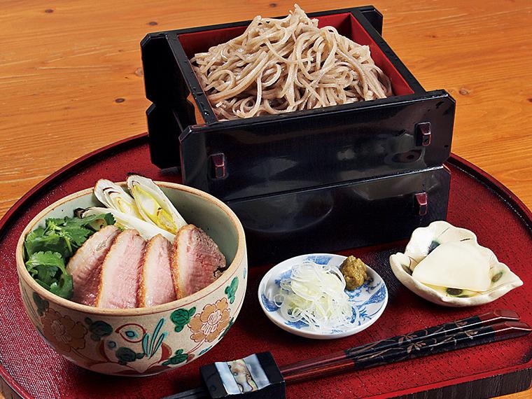 「鴨汁せいろ蕎麦」(1,690円)