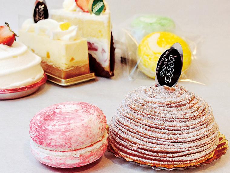 1【パティスリー エソール】本日のケーキ&マカロンの2品セット(通常702円~)