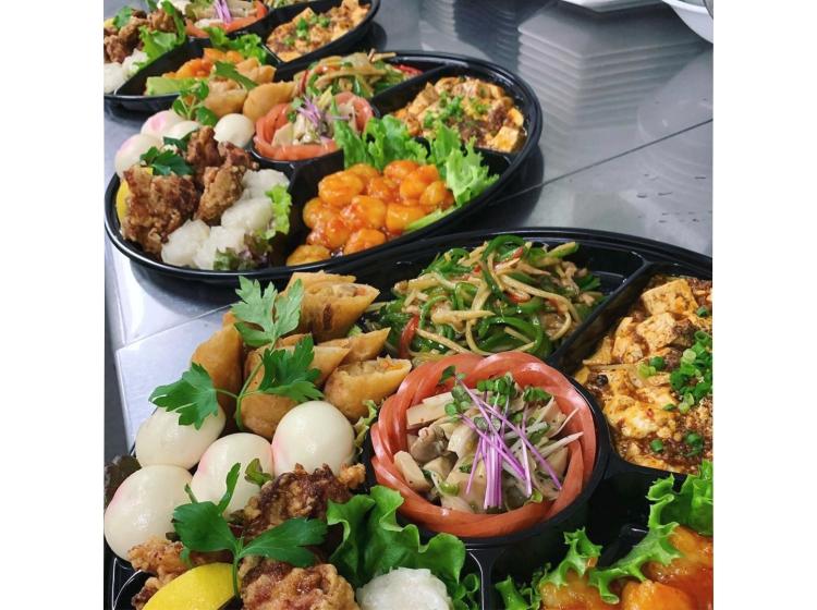 【中華DINING 龍の壺】オードブル、ワンコイン丼、弁当など