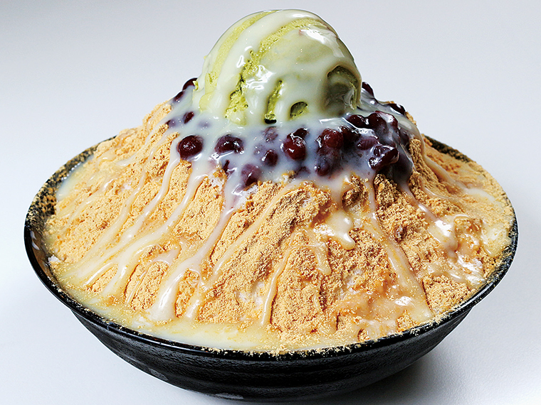4【韓国Cafe&Bar まんなむ】ピンス「和風スペシャル」(通常935円)