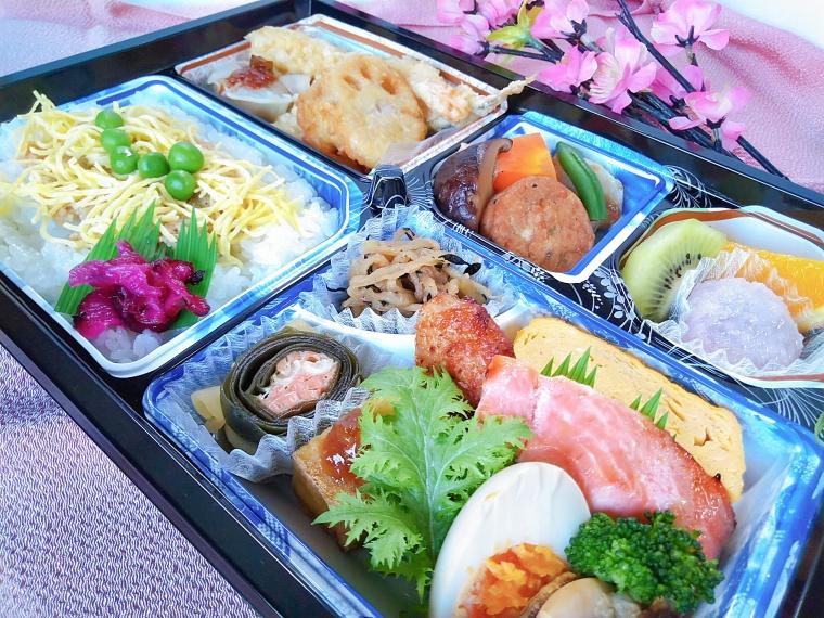 【仕出し弁当 柳町冨士屋】弁当、総菜など