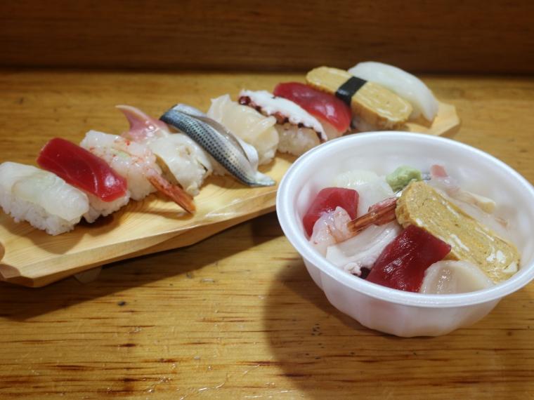 【助六寿司】寿司、海鮮丼など