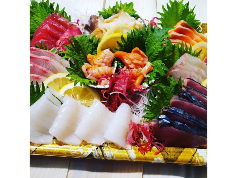 【(有)秋葉魚店】刺身盛り合わせ