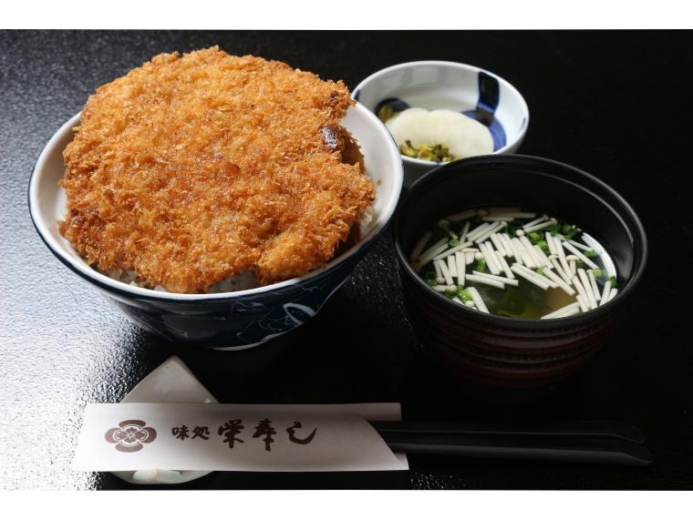 【梁川町/味処栄寿し】ソースカツ丼