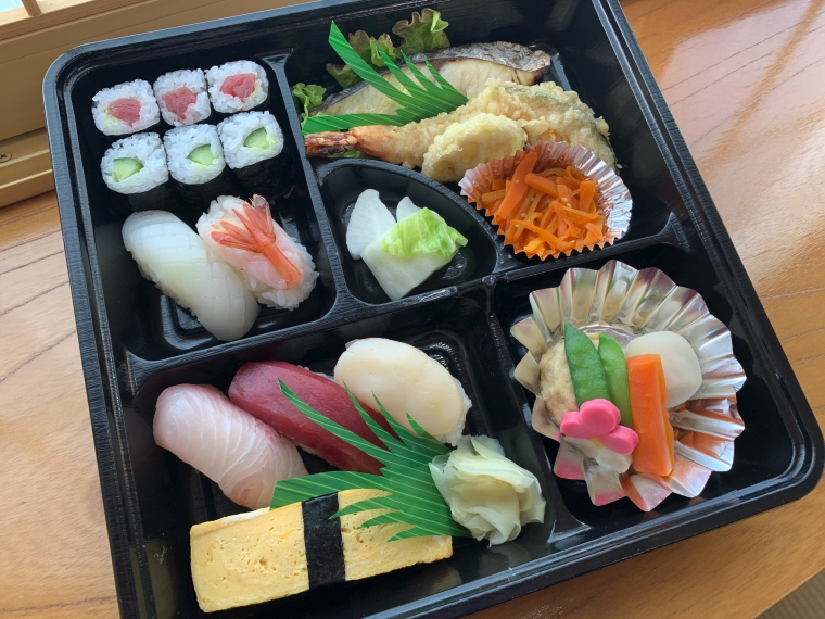 【喜久寿し】寿司など