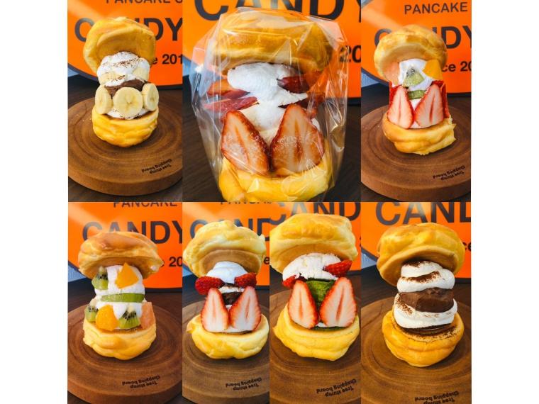【CANDY-DO 大町店】パンケーキなど