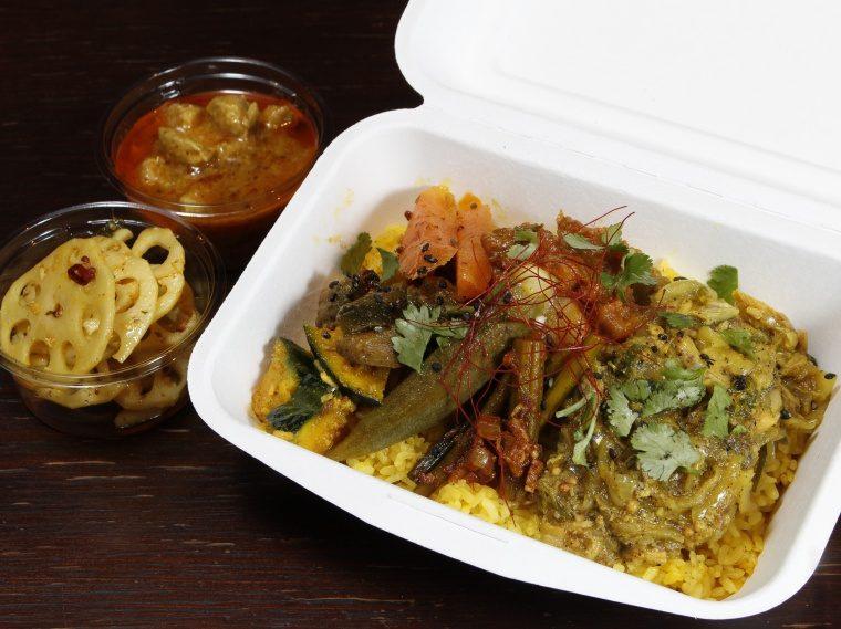 【Curry Kitchen Eddie】インド料理、スパイスカレー弁当など