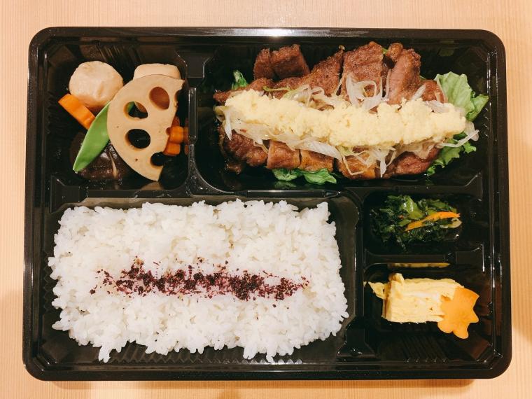 イベリコ豚の京風生姜焼き弁当(800円)