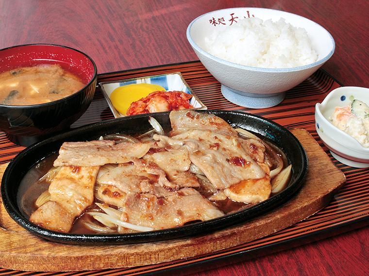 【味処 天山】焼肉弁当、ソースカツ弁当など