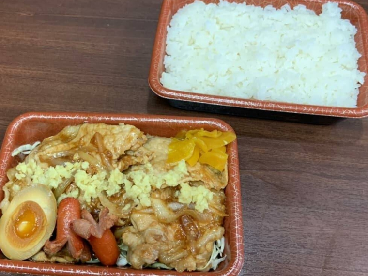 【麺や飯や 仁】弁当、チャーシュー丼など