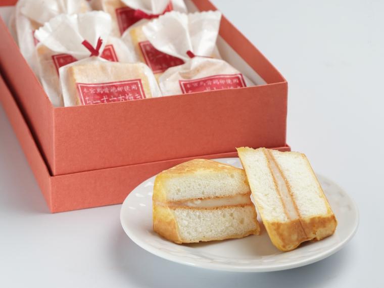 【(有)菓匠きねや】ちーず六方焼き(10個入り)2,088円