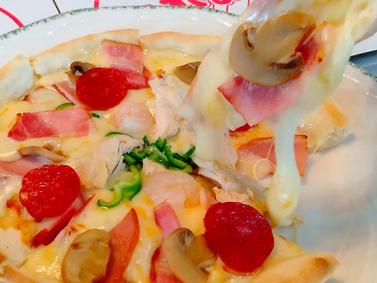 【二本松市/くれよん】ピザ、ハンバーグ