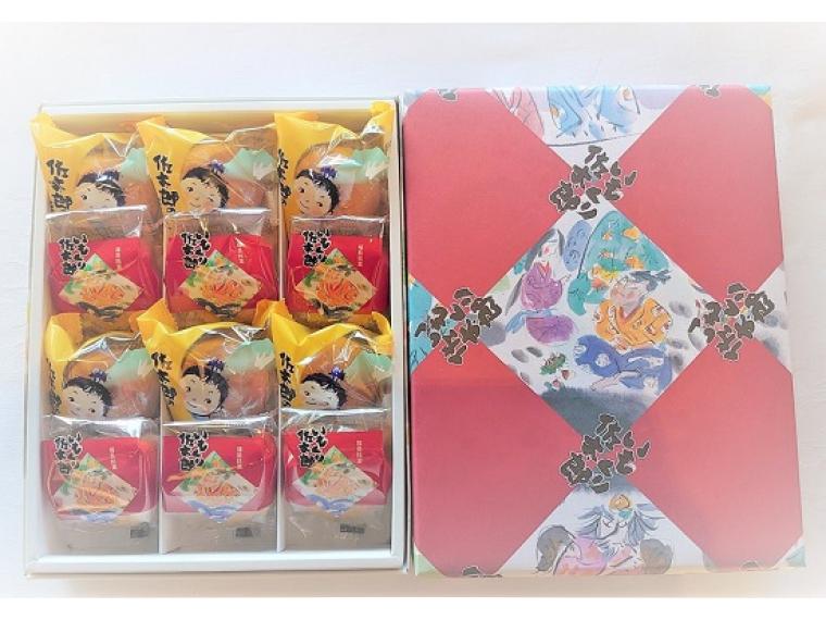 【株式会社ダイオー】佐太郎のほっぺ&いもくり佐太郎(各6個入)2,100円