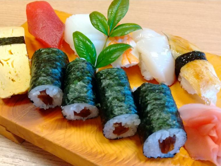 【二本松市/智恵子の湯】寿司、弁当など