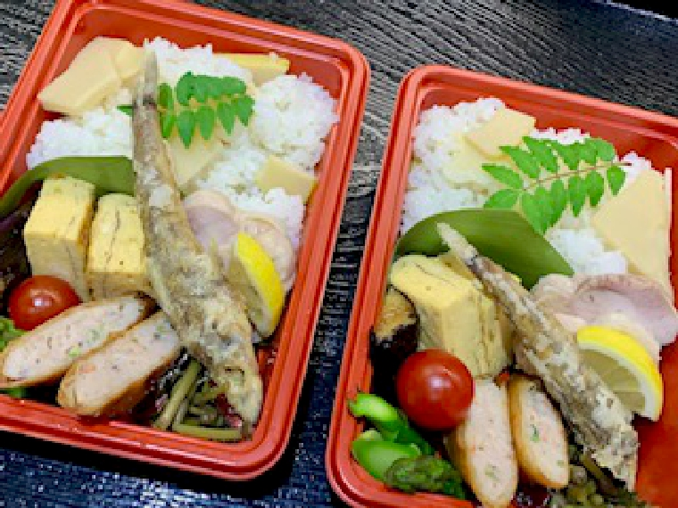 【味心だいのじ】弁当、手巻き寿司セット