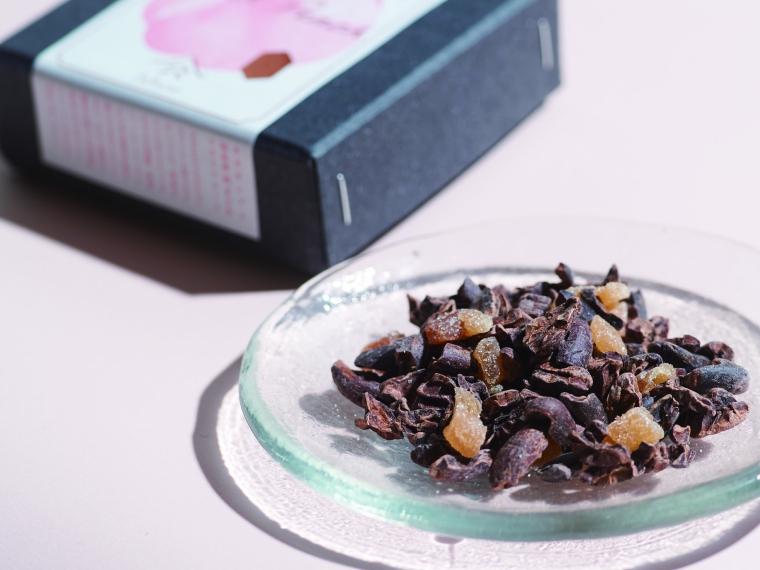 【一般財団法人ふくしま未来研究会】Cacao Nibs×Dried Fruits(桃・まどか)1,250円