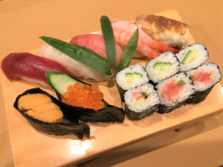 上生寿司(2,500円)