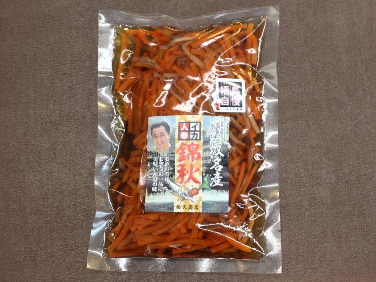 【佐久商店】いかにんじん 錦秋(170g)570円