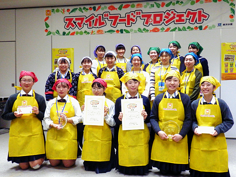 昨年は、岩手県立紫波総合高等学校のチームによる「岩手のじゃじゃ!鶏蛋湯(チータンタン)」が優勝。2020年10月に商品化し、東北地区限定で発売を予定している
