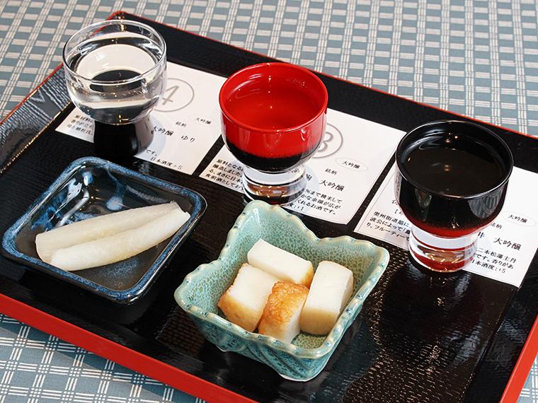 「福島のお酒に合う名産品2種セット」(300円)