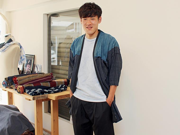 羽織っている野良着以外は、雪江選手の私物をそのままお借りました