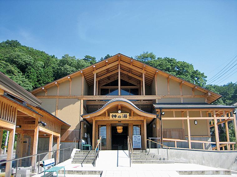 遠刈田温泉街に2ヵ所ある共同浴場の一つ『神の湯』