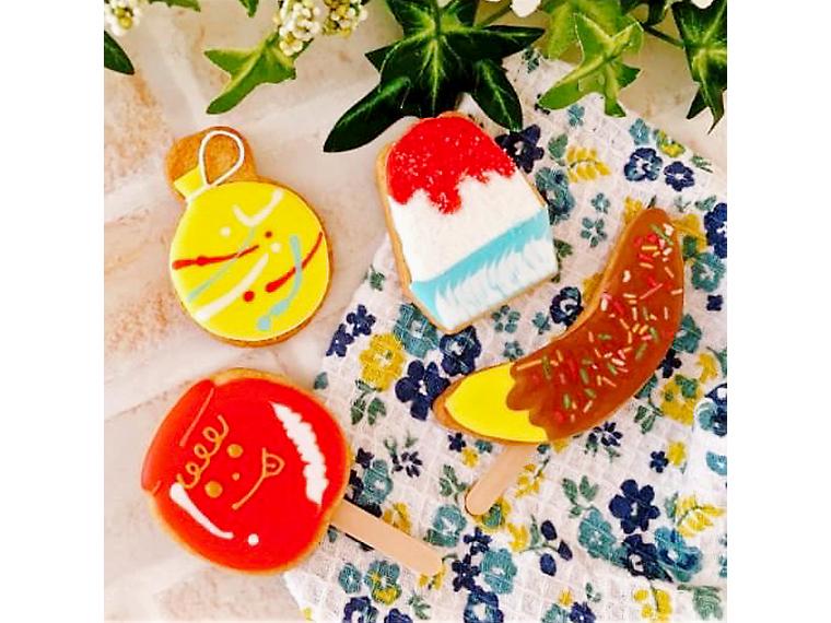 夏休みの思い出に!「夏祭り」がテーマのアイシングクッキー作りなど体験