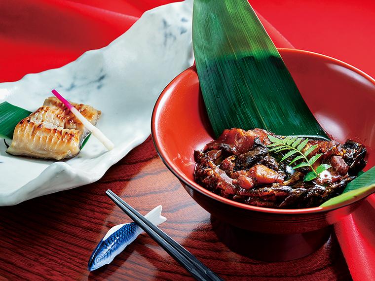 「さくら鯉の甘露煮」と「西京焼き」は、郡山産・鯉のブランド化事業のフレーズ通り、「鯉に恋」してきた店主が長年研鑽を重ねてきたおいしさだ